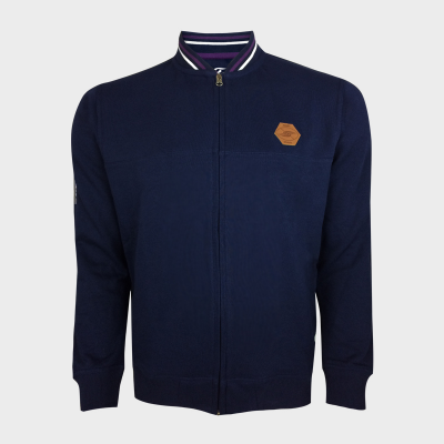 Bomber Fleece - Bandes BRB - Berugbe - Marine
