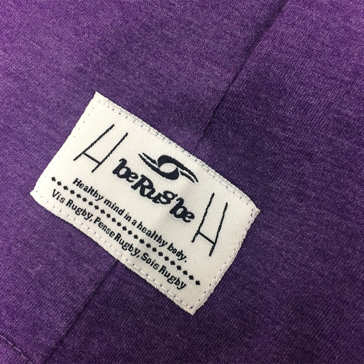 "T. Shirt ""Classic"" - Manches Courtes - Berugbe - Heather Violet"