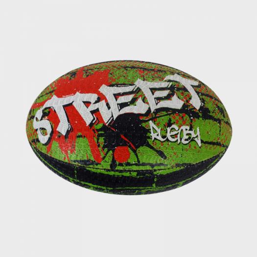 Ballon de Rugby- Street - Berugbe - T5 - Multicouleurs Street