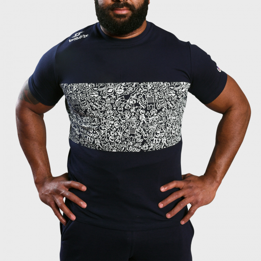 Tshirt Urban - Collection InExtenso Supersevens - Navy