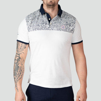 Polo Urban - Collection InExtenso Supersevens - Blanc