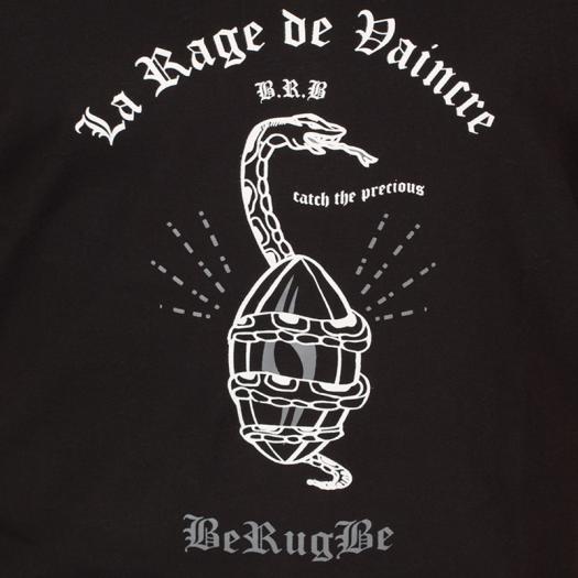 """Débardeur """"Snake"""" - Berugbe - Noir"""