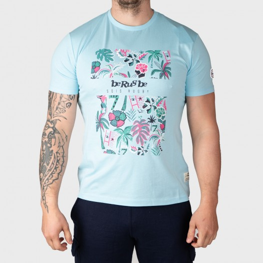 Tshirt Summer - Collection InExtenso Supersevens - Sky Blue