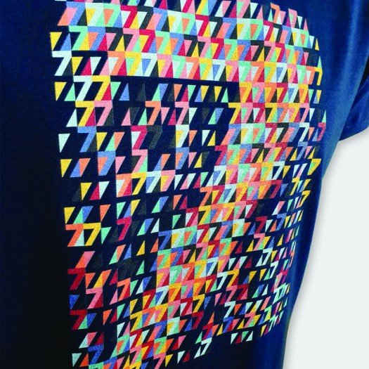 """T-shirt """"MOSAIC"""" Collection IN EXTENSO SUPERSEVENS"""