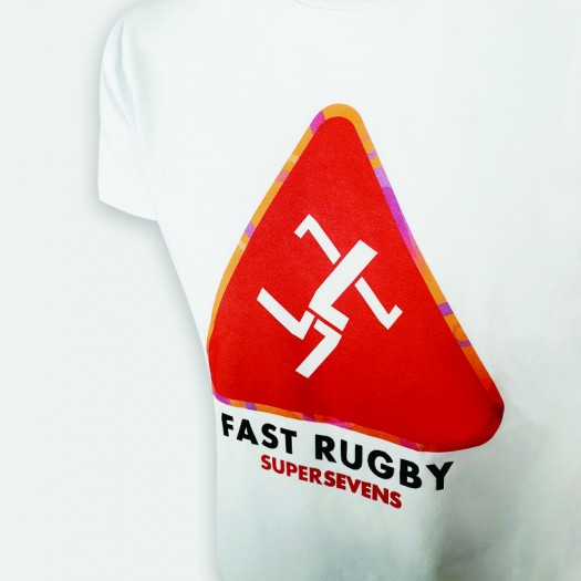 """T-shirt """"FAST RUGBY"""" Collection IN EXTENSO SUPERSEVENS"""